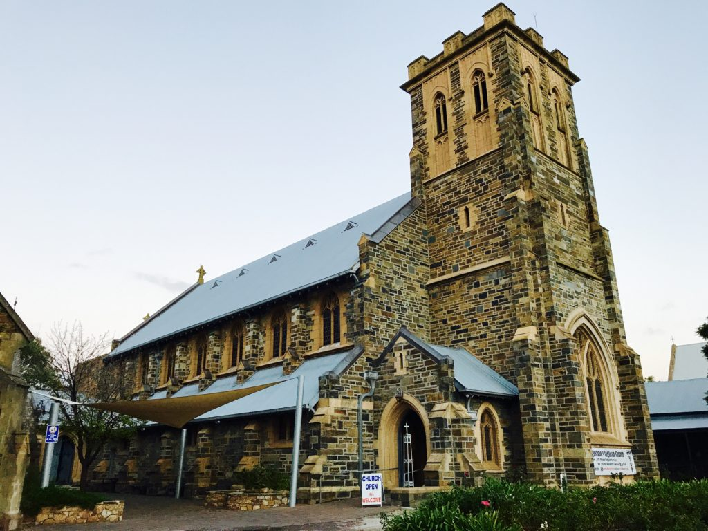 St Augustine's Anglican church Unley north view